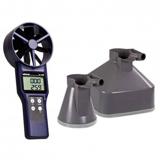 Wohler FA 410 Fan anemometer Set