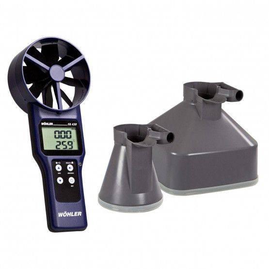 Wöhler FA 430 Fan Anemometer Set