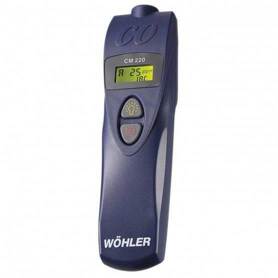 Wöhler CM 220 Carbon Monoxide Meter