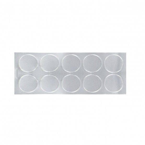 Round foil test hole seals