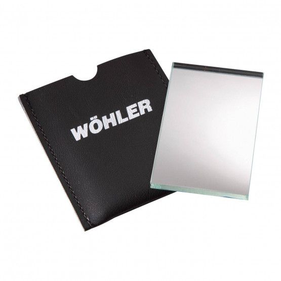 Wöhler Glass Hand Mirror