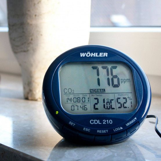Wohler CDL 210 CO2 Monitor