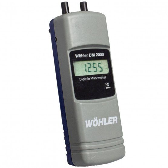 Wohler Dm 2000 Digital Manometer