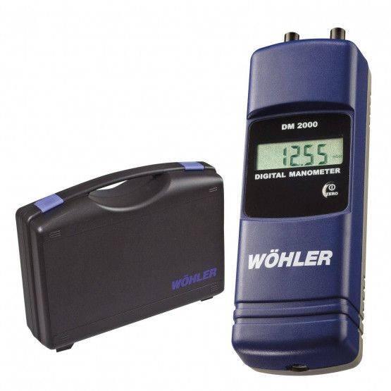 Wohler DM 2000 Manometer Kit