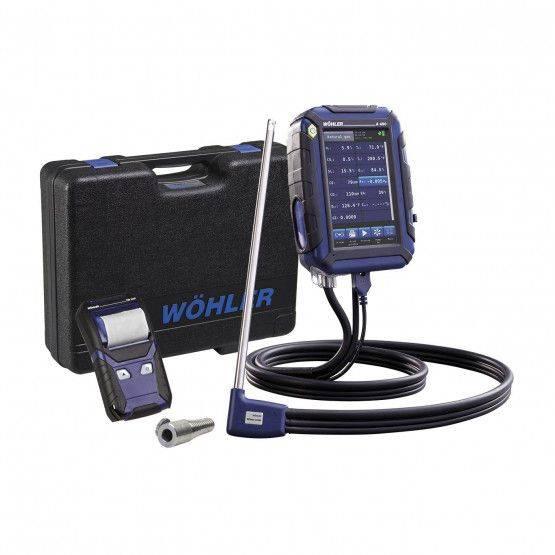 Wohler A 450 L Combustion Analyzer
