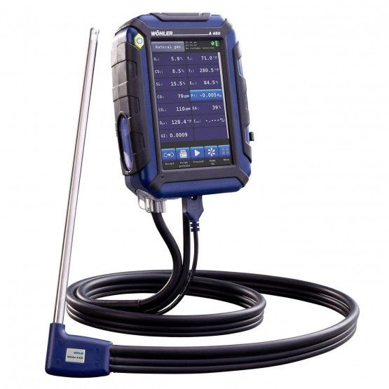 Wohler A 450 L Combustion Analyzer