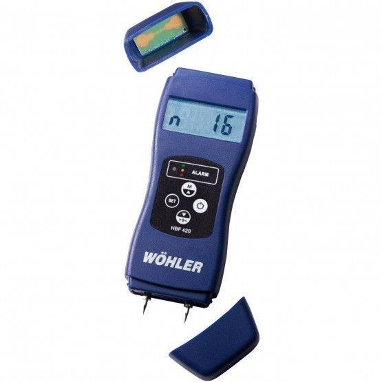 Wohler HBF 420 Molsture Meter
