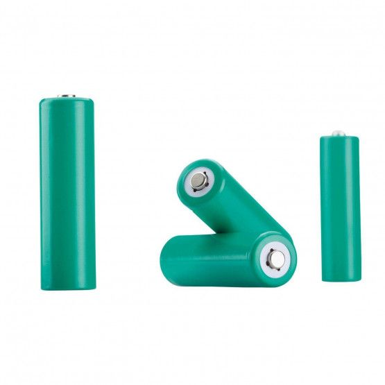 Set of 4 rechargeable NiMh batteries