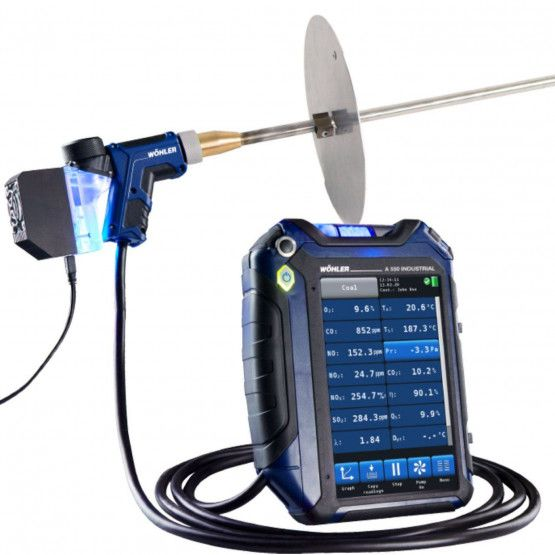 Wöhler A 550 Industrial Emissions Analyzer